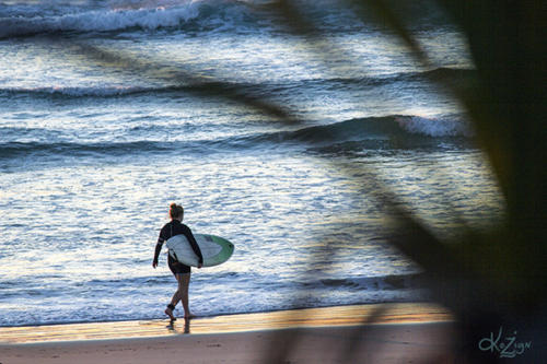 Coolum Surfer Girl